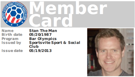 New Release adds Member Cards Membership Status and Roster – Membership Card Samples