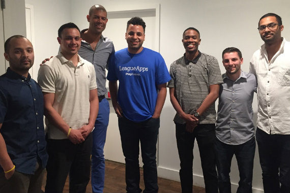 Archived image of Shane Battier with the LeagueApps Hoops team.
