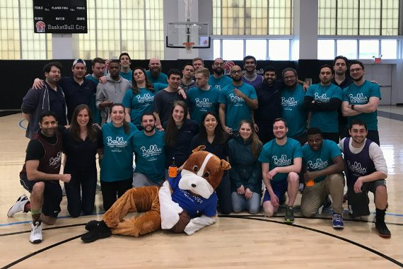 LeagueApps Volunteers at Ballin for Charity