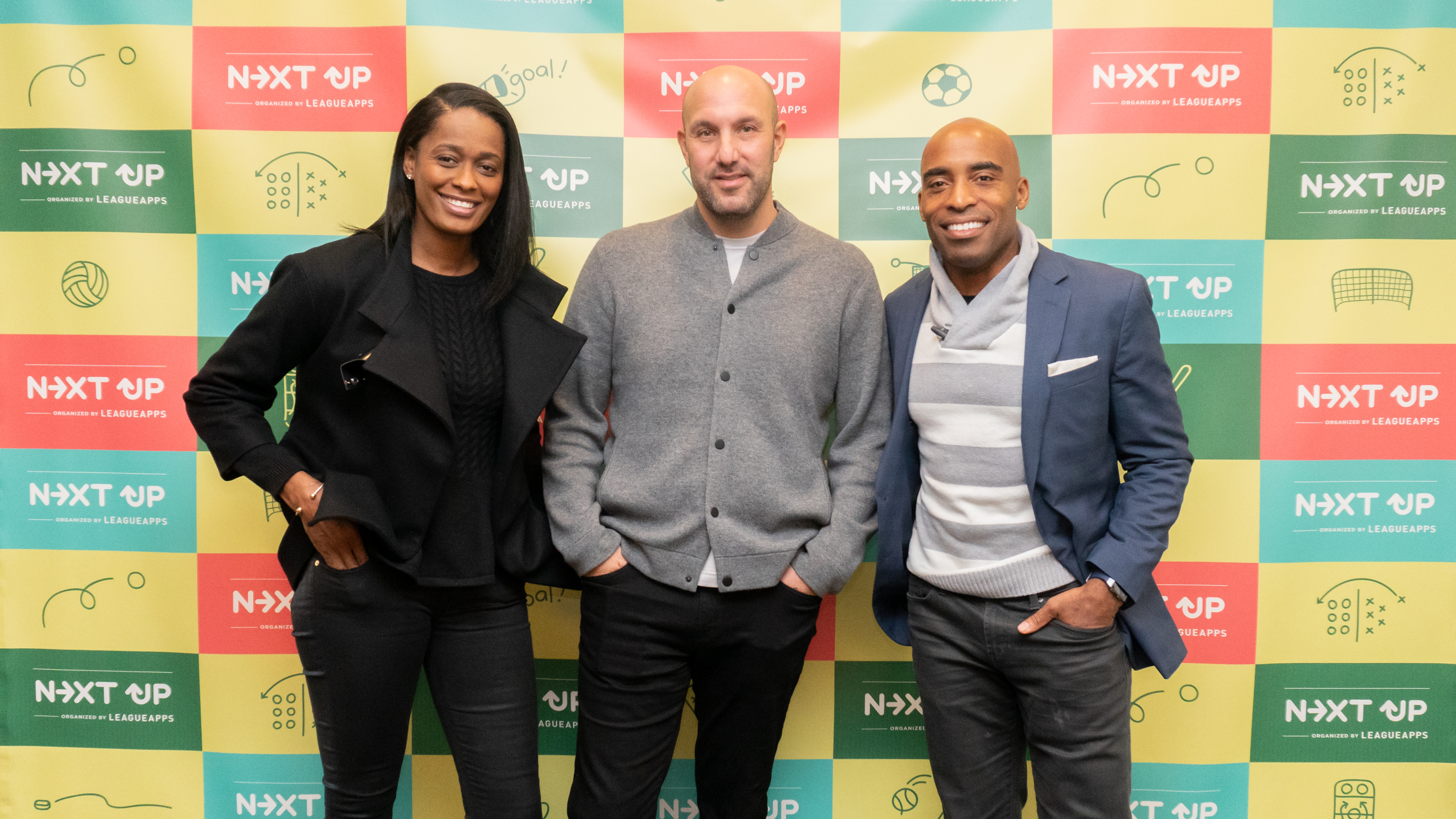 Panelists: Swin Cash, Rich Kleiman, and Tiki Barber