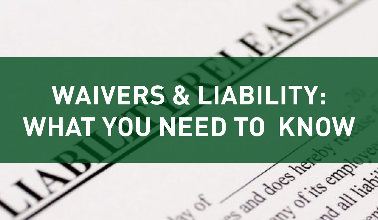 Waivers & Liability blog