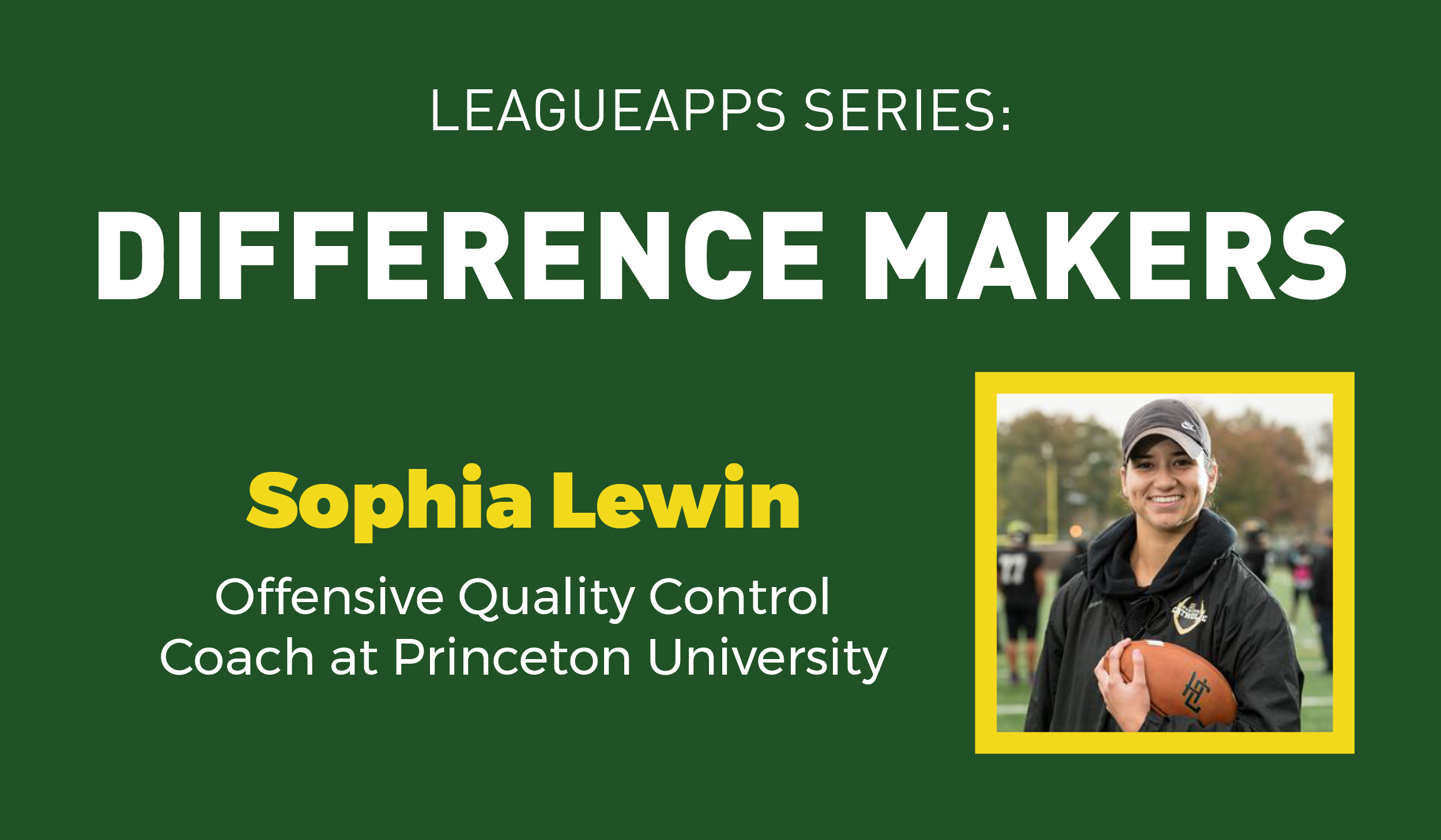 Sophia Lewin Difference Makers
